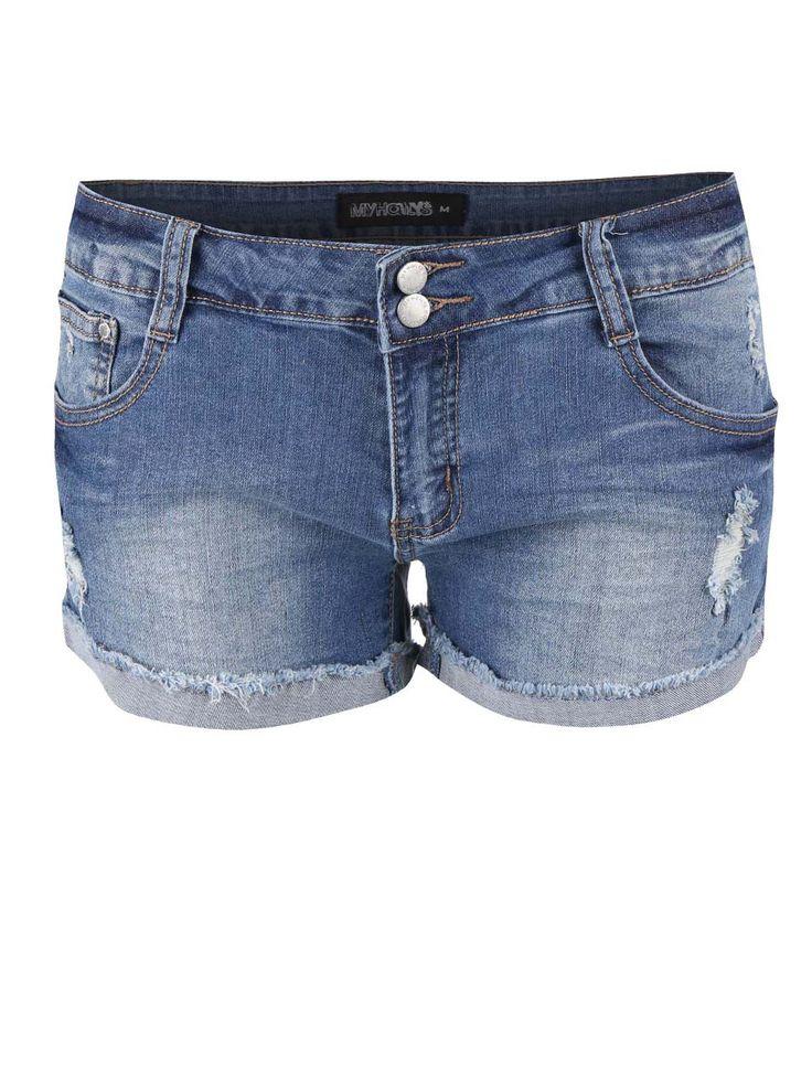 Pantaloni scurți Haily´s Mary albaștri din denim - Haily´s