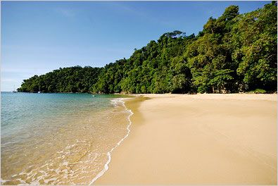 Pirate's Bay, Charlotteville, Tobago.