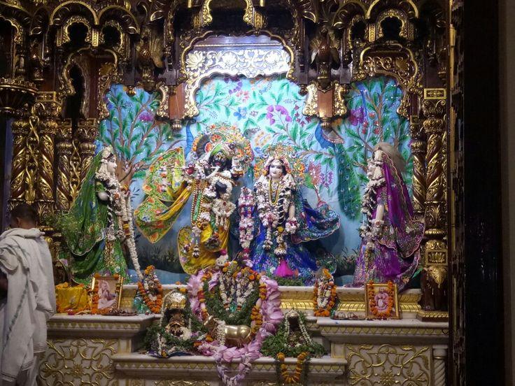 Shree Radha krishna Isckon Temple From Vrindavan  Hare Rama Hare Krishna, Krishna Krishna Hare Hare....
