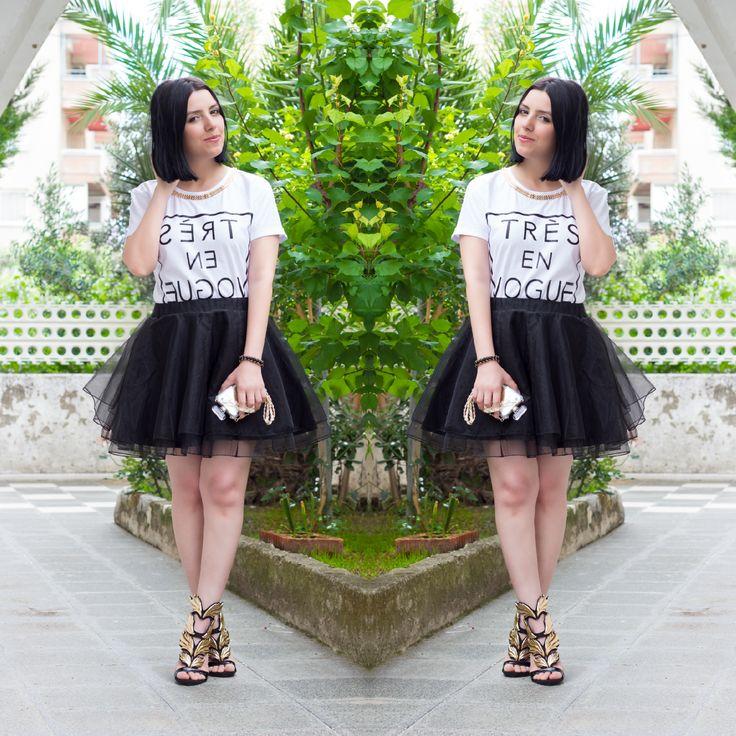 Ne Giydim: Siyah Tütü Etek - http://pemberuj.net/ne-giydim-siyah-tutu-etek/
