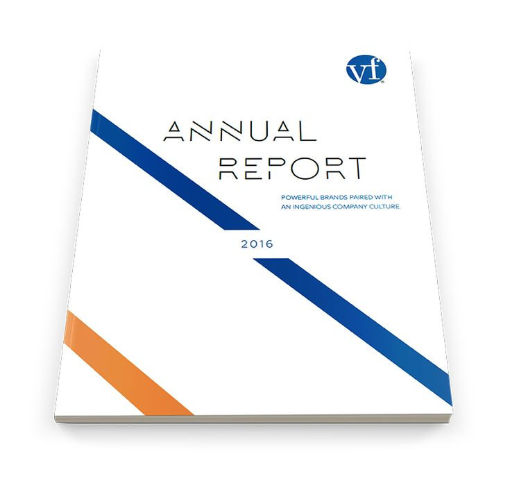 VF Corporation Annual Report on Behance