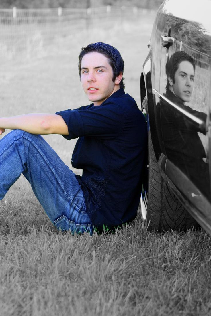 Senior Boy - Car Pose - Karla found the general concept, I did my own edit