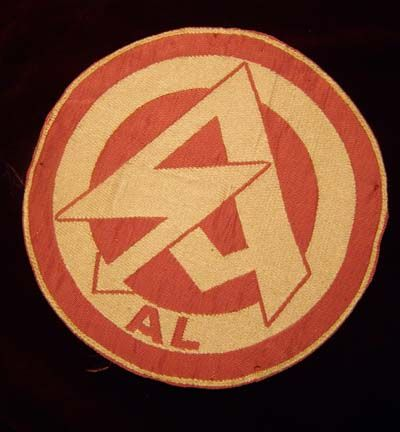 """Insignia of the Sturmabteilung (S.A.) or """"Brown Shirts""""."""