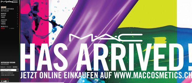 JUSTiBeauty Blog: #MAC: Neuer Online Shop Schweiz & Stroke of Midnight Lip Bag