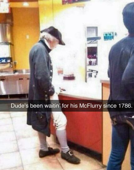 Life, liberty and the pursuit of Happy Meals.
