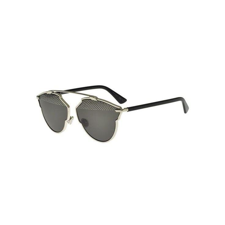 Gafas de Sol DIOR SO REAL S STUDS Light Gold Black Dark Grey Silver Studs