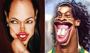 Angiolina Jolie e Ronaldino