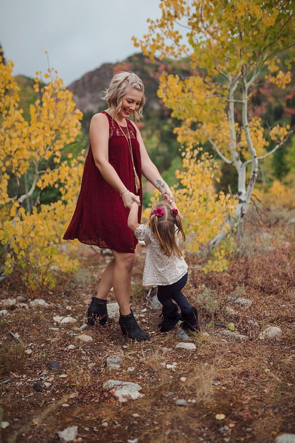 Mother daughter fall photo by ShaiLynn Photo and Film