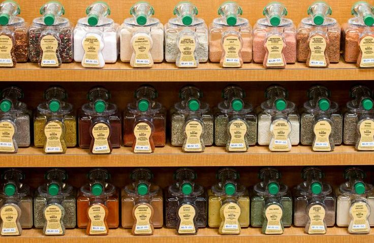 Name-brand spicesFew can tell the difference in taste between name-brand spices and generic options. Health-food stores (as do some grocery stores) sell them in bulk or vend loose spices. Both are more cost-efficient options. Photo: Brett Coomer / © 2012 Houston Chronicle
