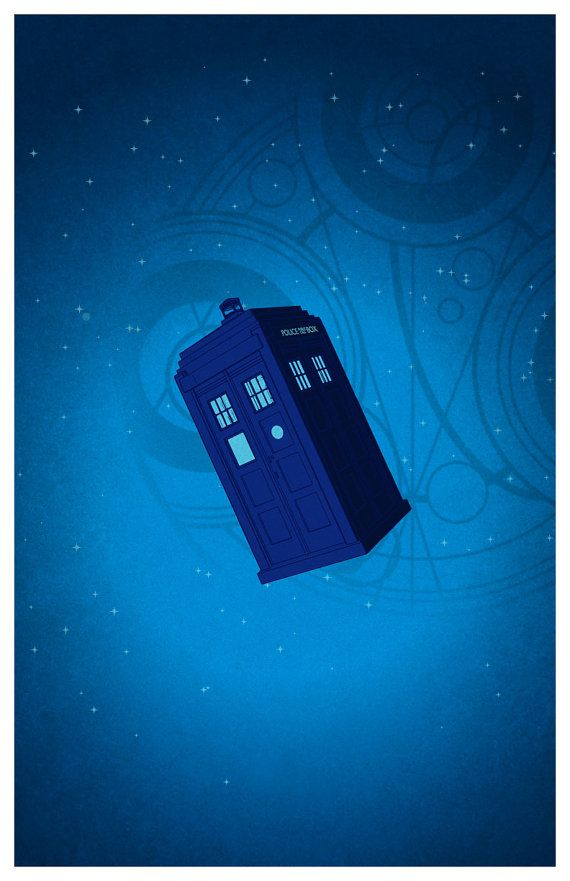 Doctor Who Minimalist Poster by MINIMALISTPRINTS on Etsy