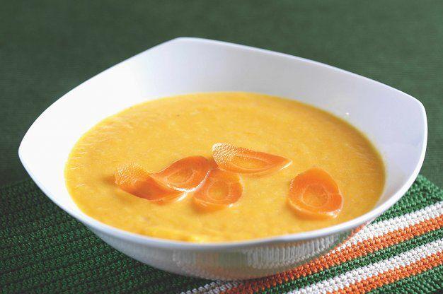 Krémová mrkvová polévka | Apetitonline.cz