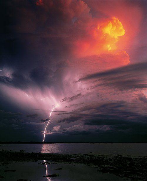 Thunderbolt, Darwin, Northern Territory, Australia by Peter Jarver