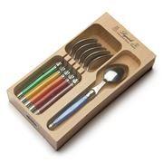 Laguiole - Debutante Multicoloured Teaspoon Set 6pce