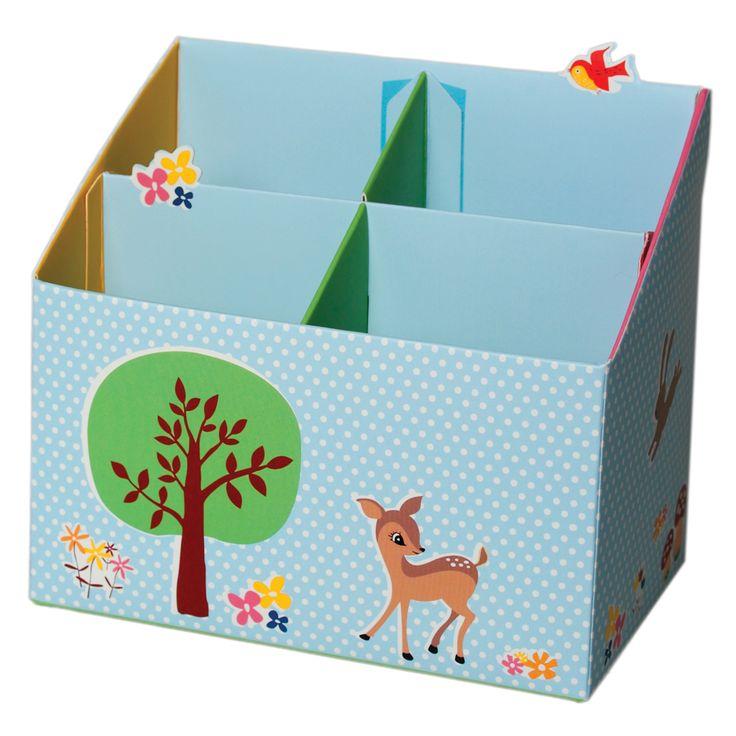£2.95 and hey presto!  A woodland desk!  Pencil Box Woodland Animals Design | DotComGiftShop