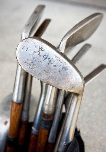 Hickory Golf Championship Is Played With Wooden Clubs