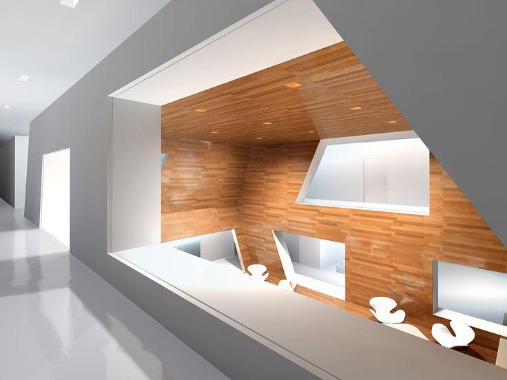 Ordos Hotel / EXH Design corridor (concept)