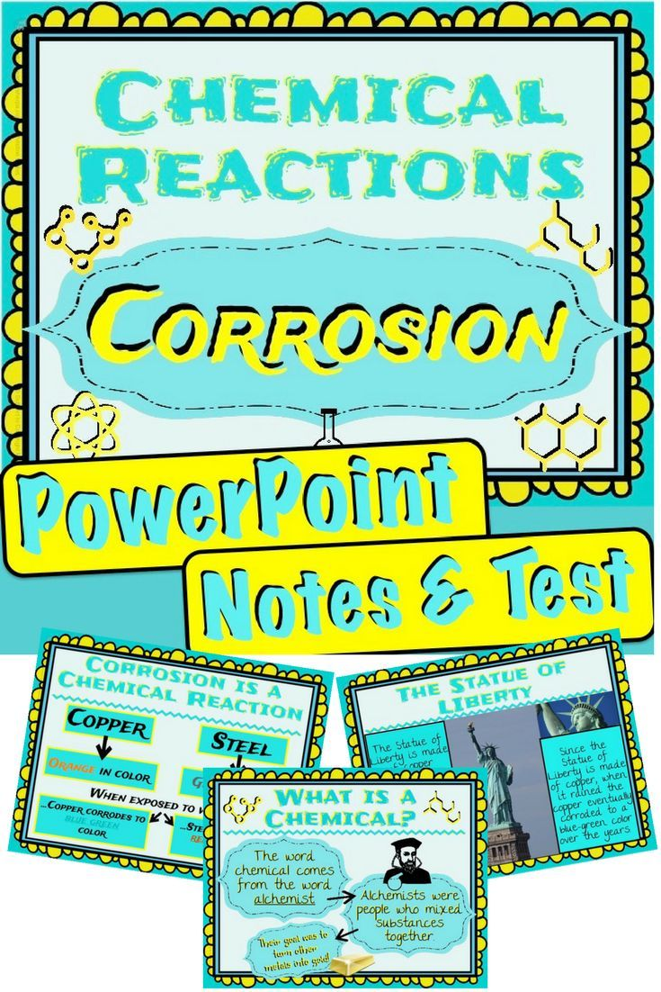 Easily introduce your students to chemistry! This introduction looks at the history of chemistry, what chemicals are, and how to identify a chemical reaction of corrosion.