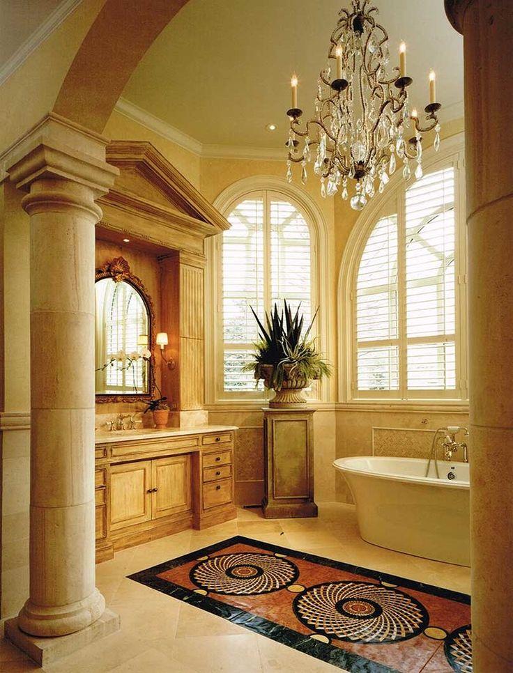 25 best mediterranean bathroom design ideas on pinterest mediterranean style bathroom design mediterranean baths and mediterranean style bathroom ideas - Mediterranean Bathroom Design