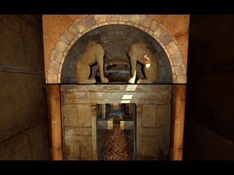 New animation video guides virtual visitors through the Amphipolis tomb, featuring all the latest archaeological finds following the discovery of a skeleton in the third chamber.
