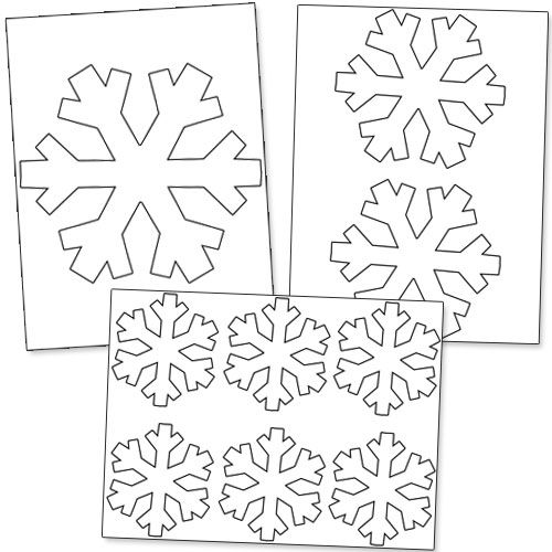 The 25 Best Snowflake Stencil Ideas