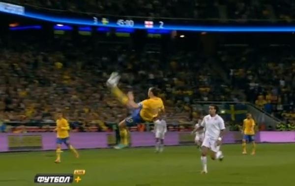 Zlatan Ibrahimovic scored the best goal ever