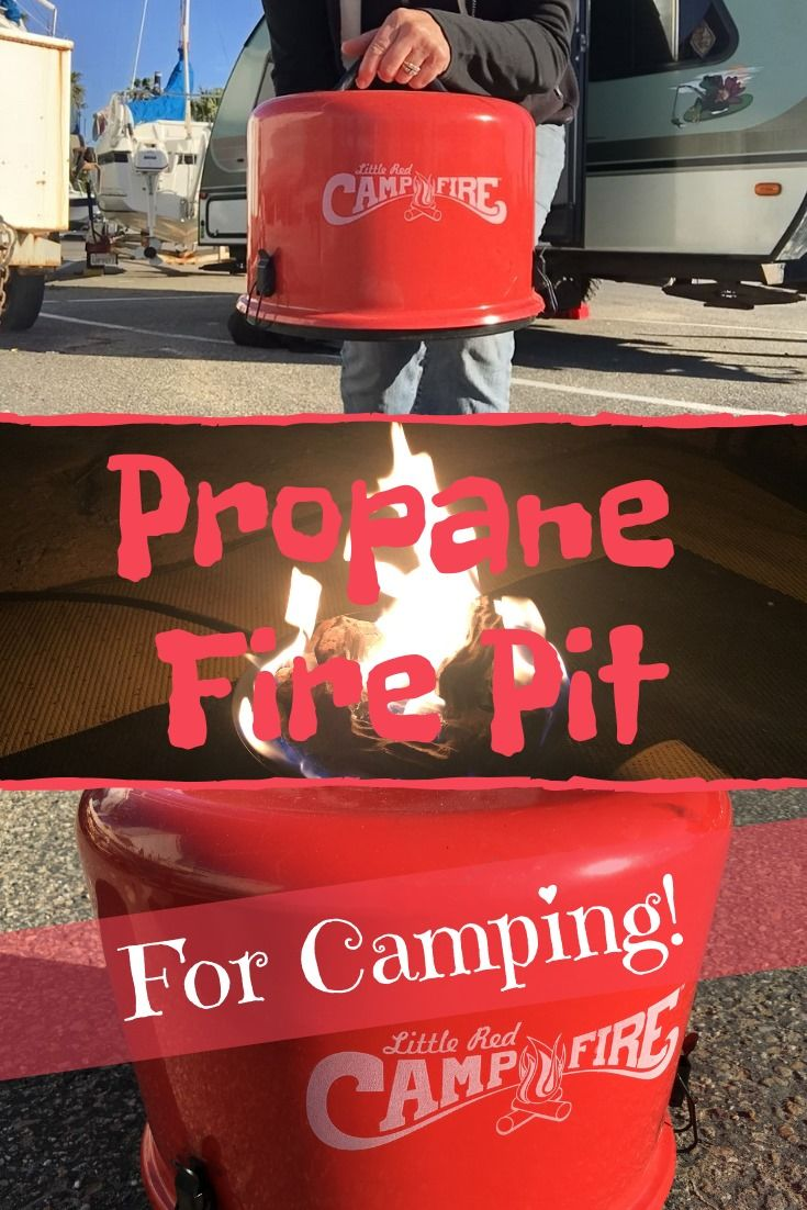 We Love This Little Red Campfire No More Smoke In Our Eyes On Our Clothes Or In Our Trailer No More Buying St Camping Fun Camping Fire Pit Oregon Camping