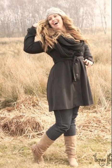 Fashionista: Winter Clothing:Plus Size