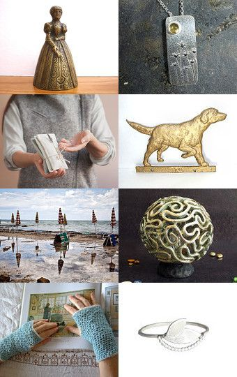 lady with dog by Paola PA.BU on Etsy--Pinned with TreasuryPin.com