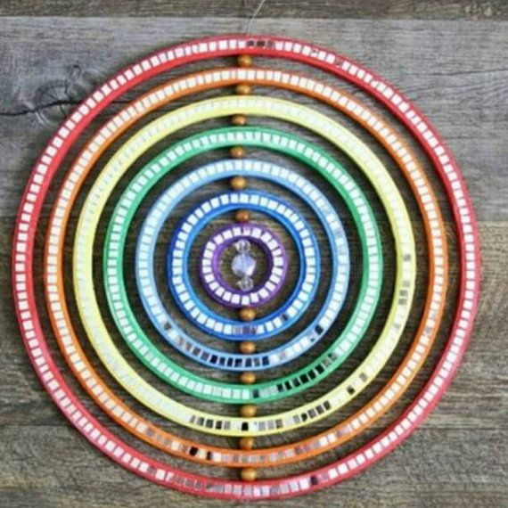 Hey, I found this really awesome Etsy listing at https://www.etsy.com/au/listing/261591557/rainbow-mirror-mosaic-sun-catcher-baby