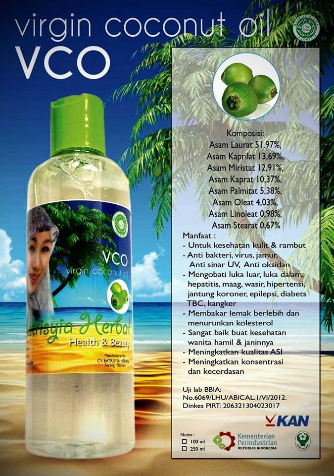 Virgin Coconut Oil Batrisyia diolah dari 100% VCO kelapa hijau pilihan dengan metode dingin tanpa pemanasan dan tanpa bahan kimia sedikitpun dengan hasil uji lab BBIA kementrian perindustrian RI kadar asam laurat 51,97% (hasil uji lab BBIA Kementrian Perindustrian RI). Manfaat : Insyaa Allah bermanfaat untuk Kesehatan kulit & rambut Anti bakteri, virus, jamur Anti …