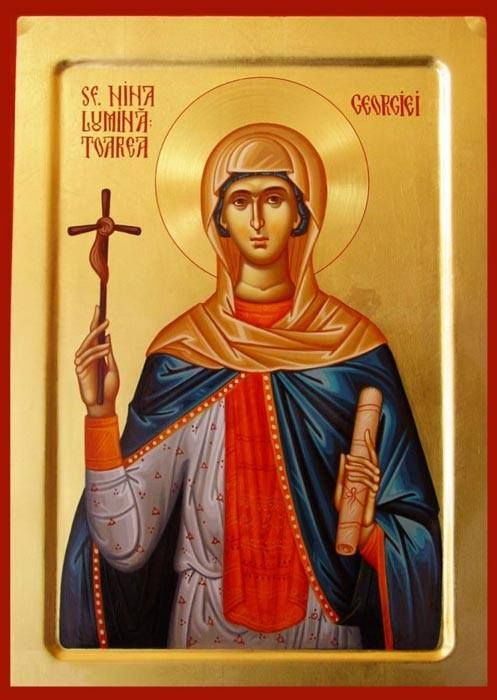 Aγ.ΝΙΝΑ Ισαπόστολος  (296 - 335) - 14 Ιανουαρίου
