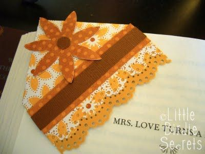10 beautiful bookmarks (and one of them includes 7 ideas, so it's like a free bonus!) … check them out after the break.