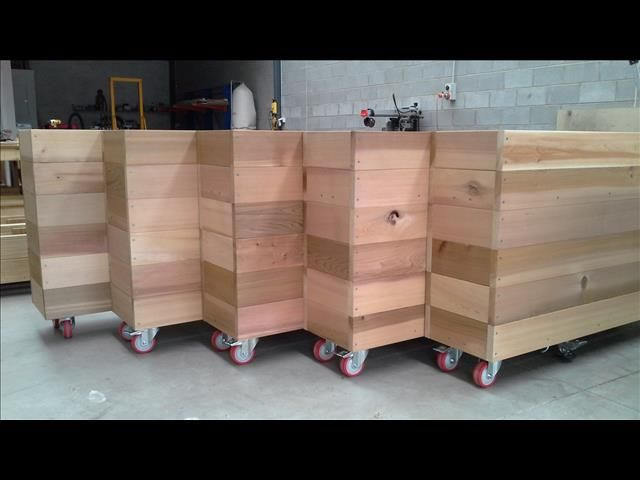 Cafe Barriers Amp Planter Boxes Cedar Timber 2000mm X