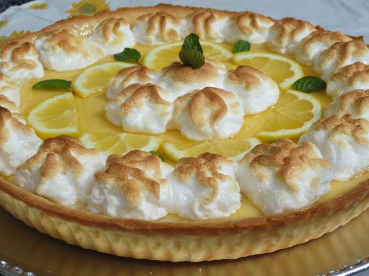 (Tarta de limón) con Thermomix ༺✿ƬⱤღ http://www.pinterest.com/teretegui/✿༻