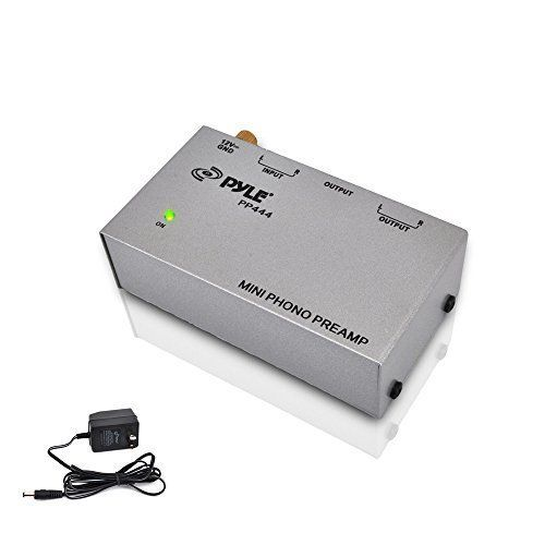 PYLE-PRO PP444 Ultra Compact Phono Turntable Preamp #PylePro