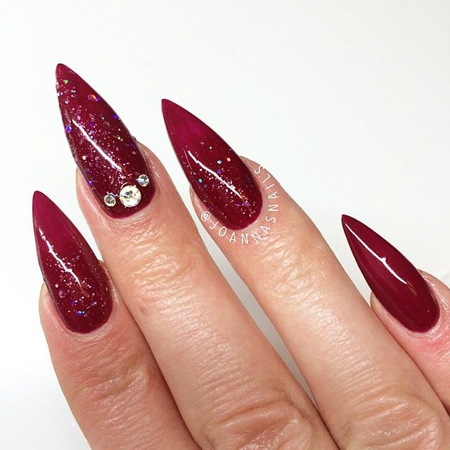 The 25 best rounded stiletto nails ideas on pinterest square want to expand your nail art portfolio to stiletto nails check out examples from 8 prinsesfo Gallery