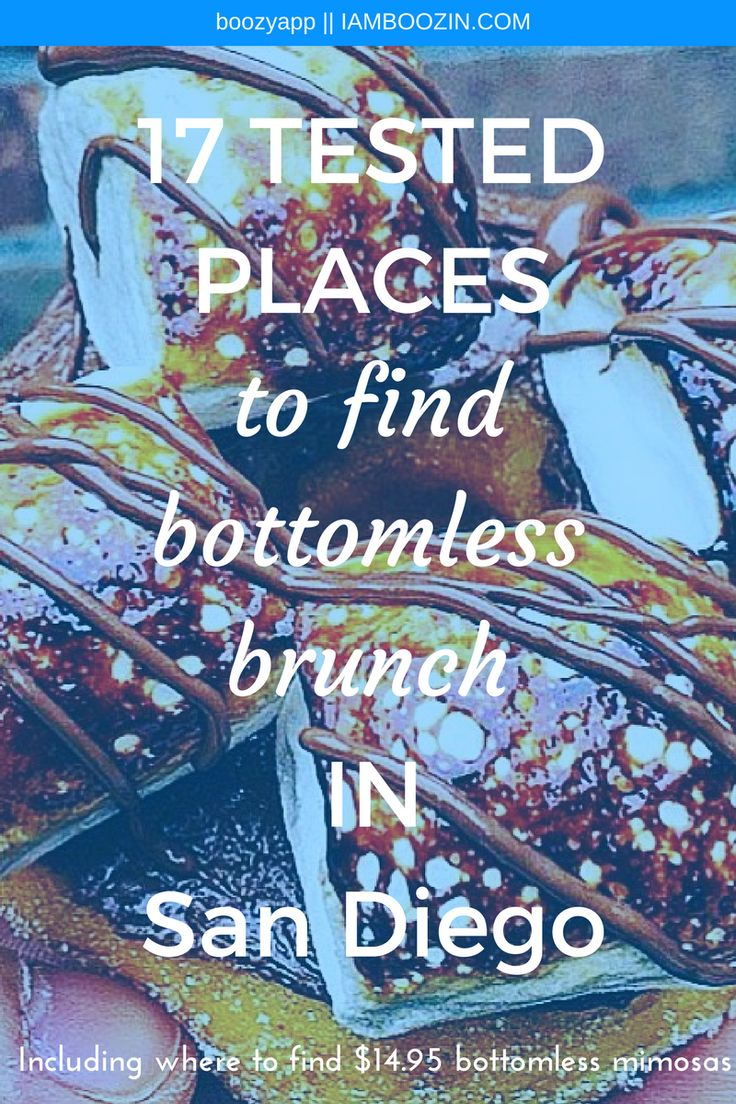 Brunch San Diego | 17 Tested Places To Find Bottomless Brunch In San Diego [Including where to find $14.95 bottomless mimosas]..Click through for more! Brunch San Diego Bottomless Brunch San Diego San Diego Brunch