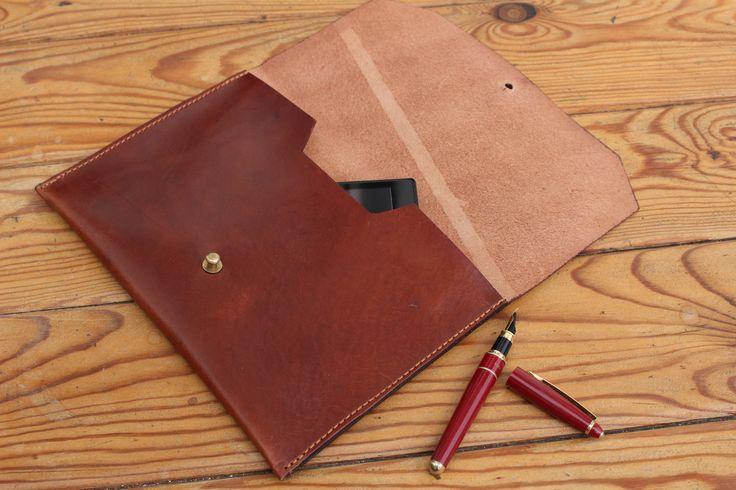 Handmade Leather Clutch.The best leather and Ludena design. Handbag, Minimalist , Handmade, Women, Gift