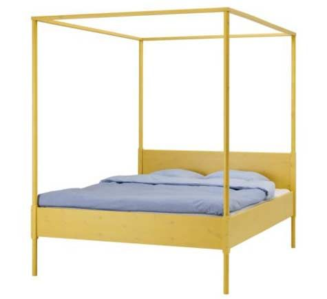 I have admired this yellow IKEA HEMNES bed for years but now it seems they arenu0027t carrying it anymore.  sc 1 st  Pinterest & The 25+ best Ikea canopy bed ideas on Pinterest | Canopy Bed with ...