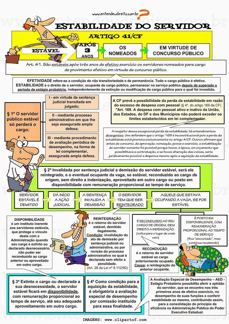 Estabilidade Do Servidor PúBlico - Artigo 41