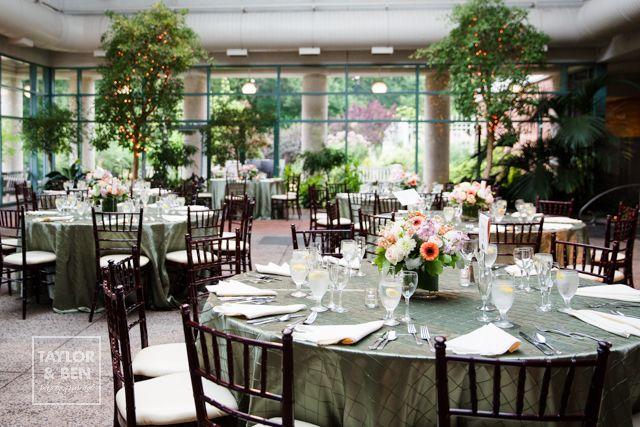 The atrium at meadowlark botanical gardens wedding meredith and stephan wedding decor for Meadowlark botanical gardens wedding