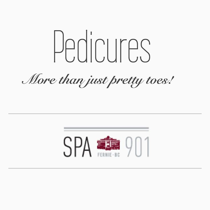 Yes... pedicures offer more benefits than commonly believed!