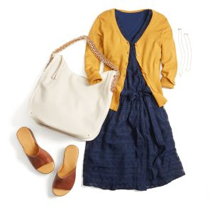 Remember the yellow and blue combo.  Inspiration Gallery | Stitch Fix Style