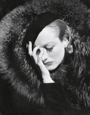 Distraught (Joan Crawford) by George Hurrell, 1932