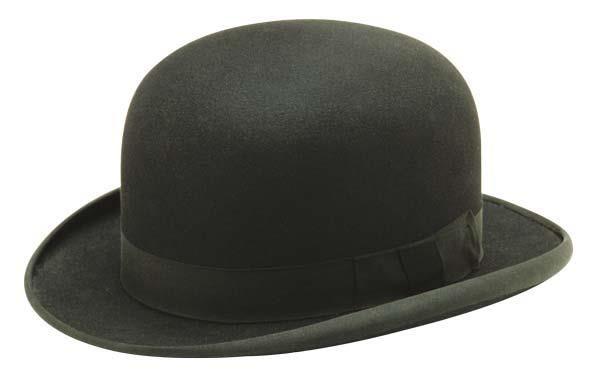 Шляпа котелок psd