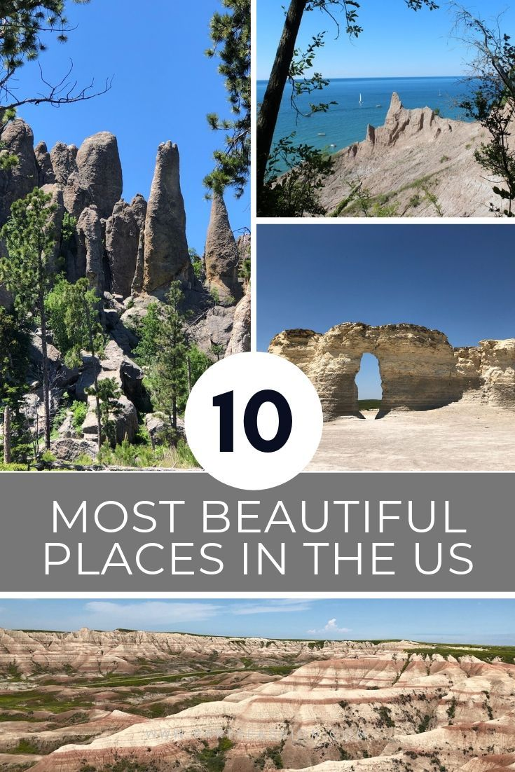 10 Most Beautiful Places In The Us Beautiful Places In America