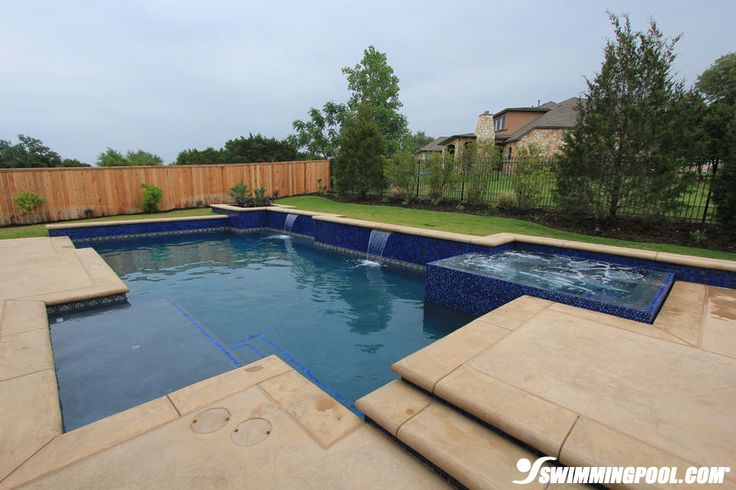 Attached Swimming Pool : Best images about pool galleries on pinterest gunite