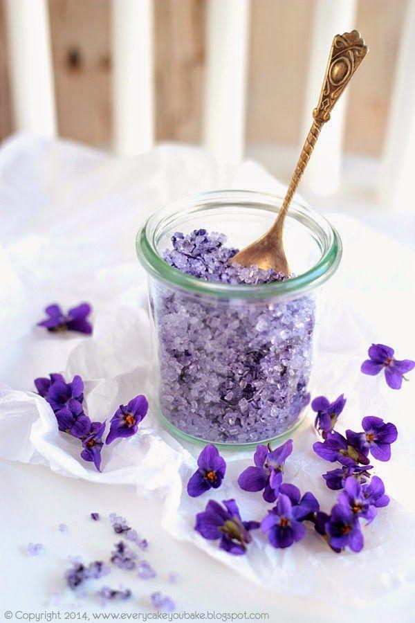 Sucré aromatisé à la violette