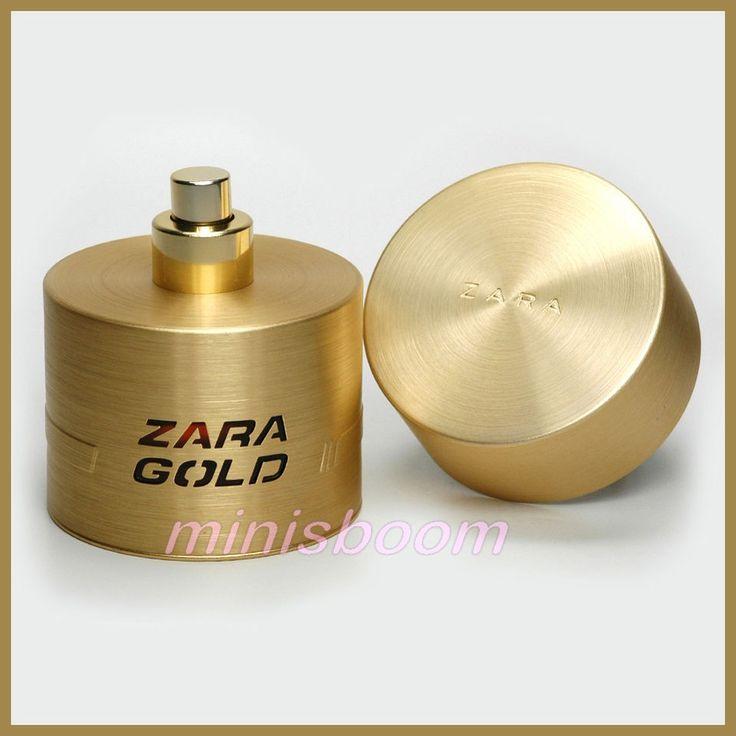 ZARA GOLD   EAU DE TOILETTE FOR MEN   3.4 OZ / 100 ML   NATURAL SPRAY