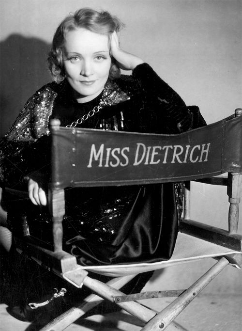 Miss Dietrich